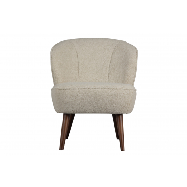 Woood Sara Fauteuil Teddy Off White