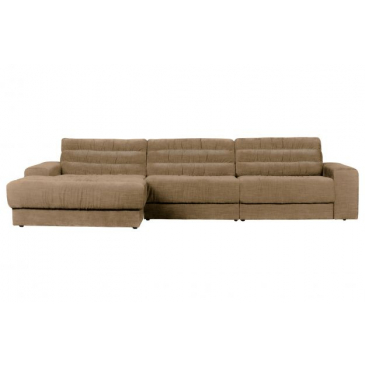 BePure Date Chaise Longue Links Vintage Zand
