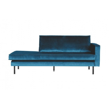 BePure Rodeo Daybed Right Velvet Blue