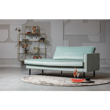 BePureHome Rodeo Daybed Right Velvet Mint