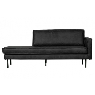 BePure Rodeo Daybed Right Zwart