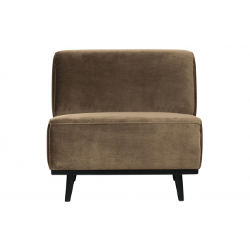 BePure Statement Fauteuil Velvet Taupe