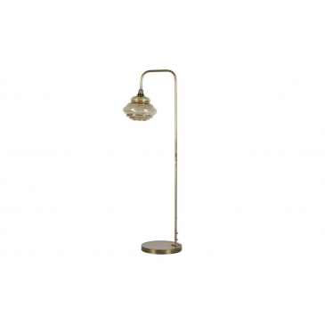 BePureHome Vloerlamp Obvious Antique Brass