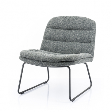 By-Boo Lounge chair Bermo - Antraciet