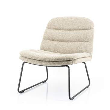 By-Boo Lounge chair Bermo - Beige