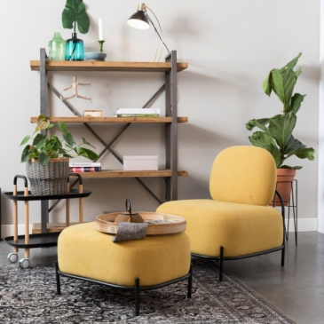 Fauteuil Polly Geel