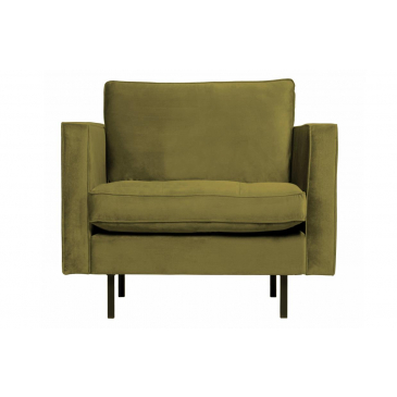 Rodeo Classic Fauteuil Velvet Olive