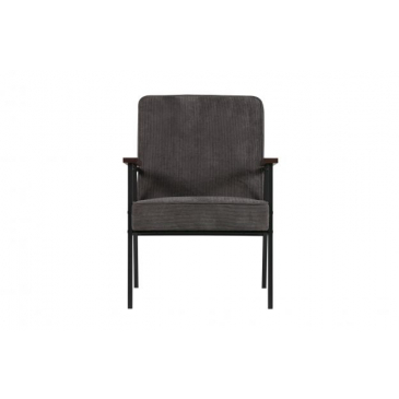 Woood Sally Fauteuil Antraciet