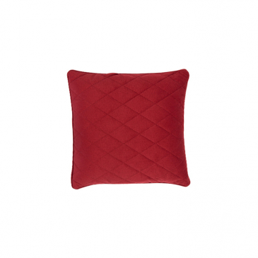 Zuiver Kussen Diamond Square Rood