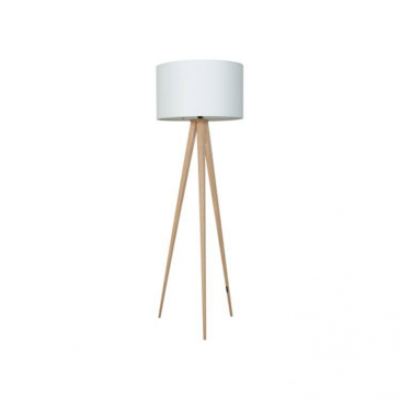 Zuiver Vloerlamp Tripod Wit Hout