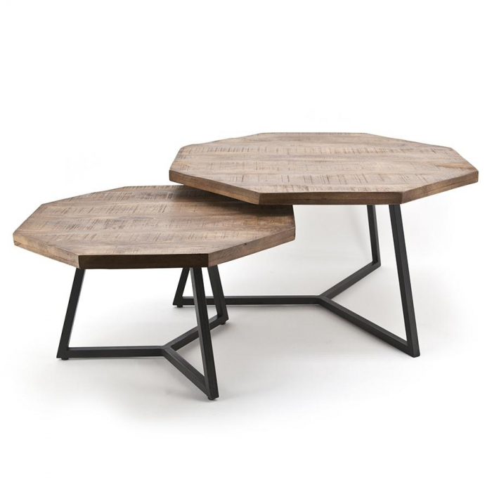 By-Boo Coffeetable Set Octagon>