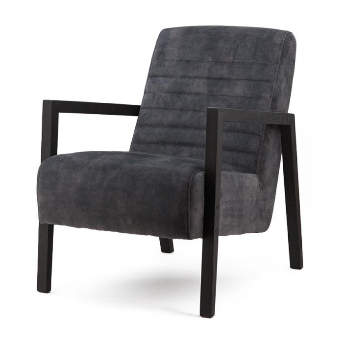 Fauteuil Lars - anthracite adore>