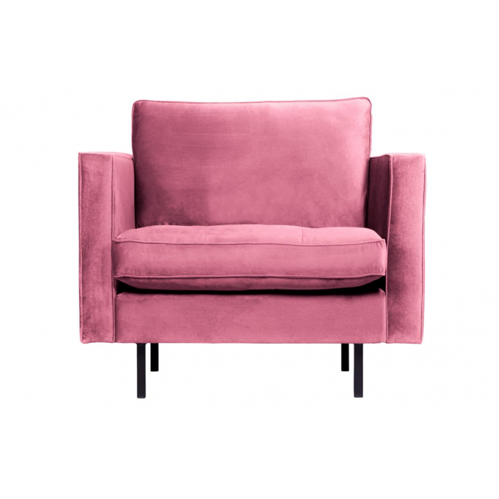 Rodeo Classic Fauteuil Velvet Pink>