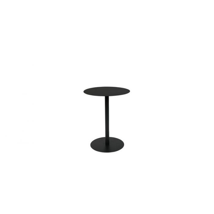 Zuiver Side Table Snow Black Round S>