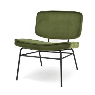By Boo Lounge Chair Vice Green