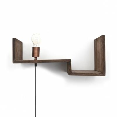 Top Shelf 50cm - brown
