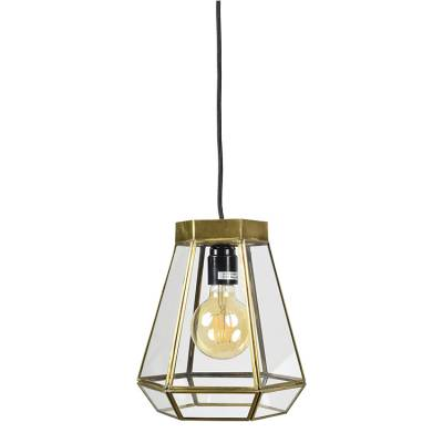 Hanglamp Geo2 Brass Antique