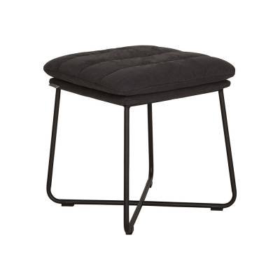 D-Bodhi Stool Stripe - Charcoal