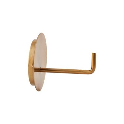 House Doctor Toiletrolhouder Brass