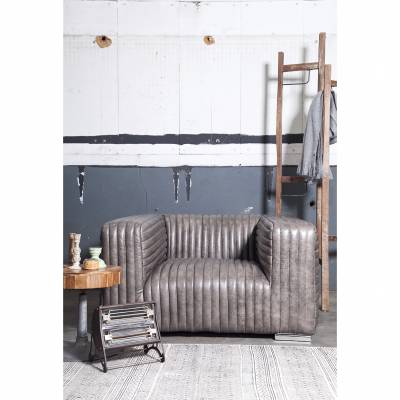 Fauteuil Vintage Ribbel Champagne Grey