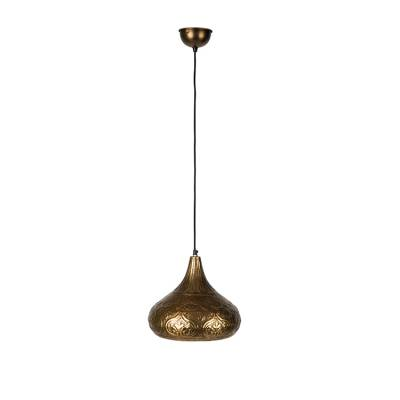 Dutchbone Hanglamp Oni Brass