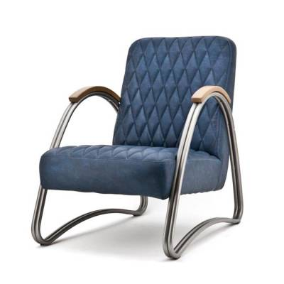 Fauteuil Mike Blauw