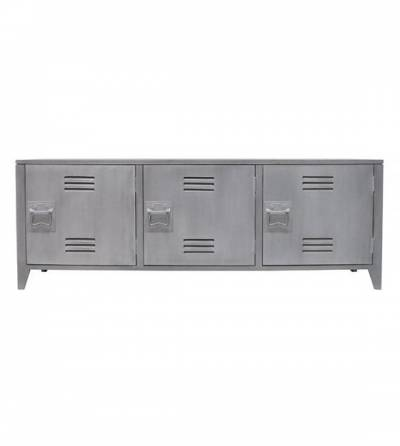 HK Living Tv Meubel Locker Grijs