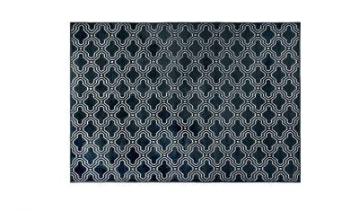 Dutchbone Carpet feike - Midnight Blue