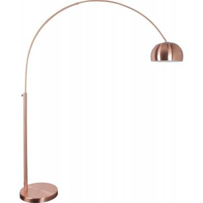 Vloerlamp Metal Bow Copper