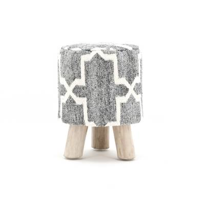 By-Boo Stool Kruk Pearl Grey