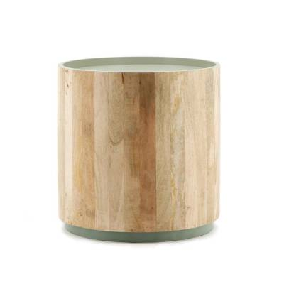 Coffeetable Tub Light 45x45 Green