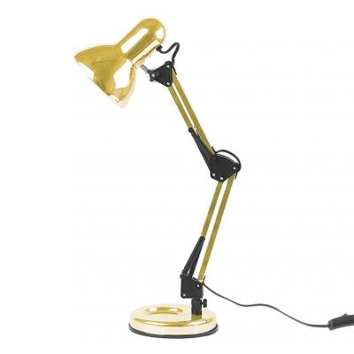 Leitmotiv Bureaulamp Hobby Gold Plated