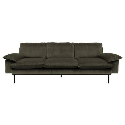 HKliving retro sofa 4-zits hunter