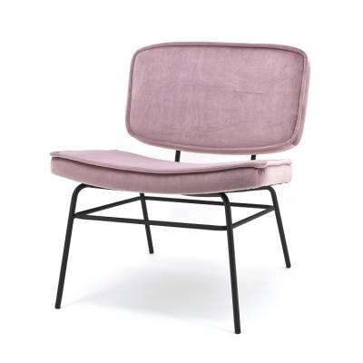 By Boo Lounge Chair Vice Old Pink
