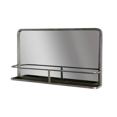 BePure Spiegel Reflection Antique Black
