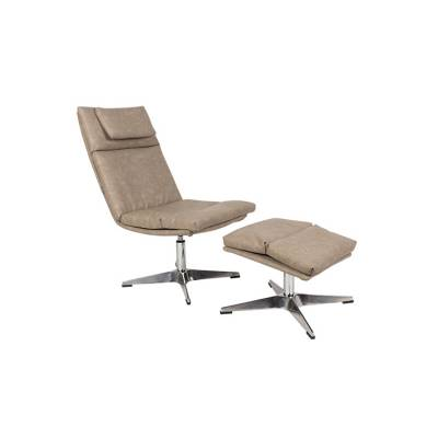 Zuiver Lounge Chair Chill Set Vintage Beige