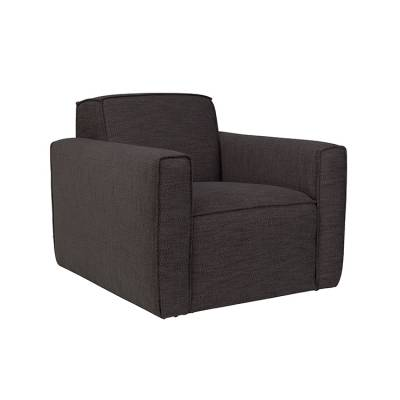 Zuiver Fauteuil Bor Antracite