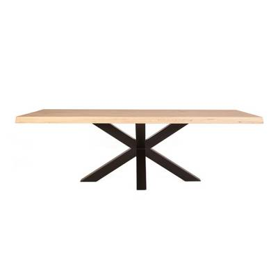 Tree table with spider leg