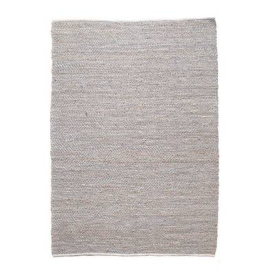 By-Boo Carpet Sisal Leather Grey 160x230