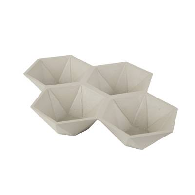 Zuiver Tray Hexagon Wit