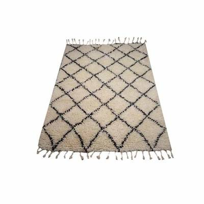 Vloerkleed Berber Shaggy Wool 170x240
