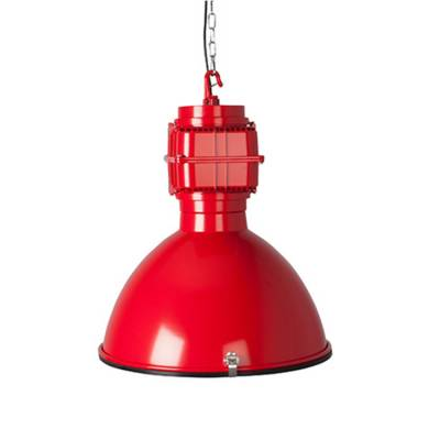 Zuiver Hanglamp Vic Industrieel Rood