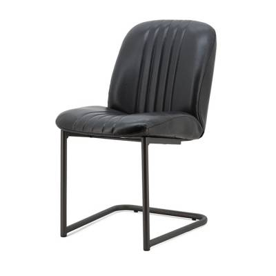 Chair Shelby - anthracite rosi leather