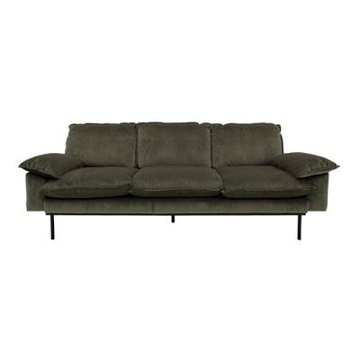 HKliving retro sofa 3-zits hunter