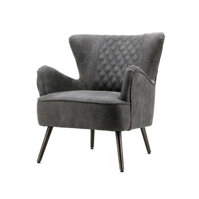 Fauteuil Daisy Antraciet