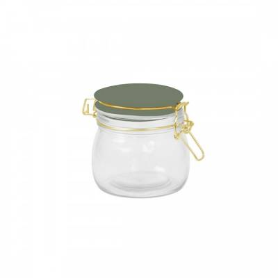 Present Time Jar Candy Jungle Green Small