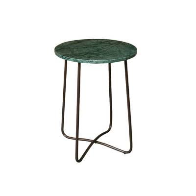Dutchbone Bijzettafel Emerald Marble Green