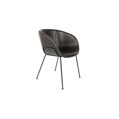Feston Arm Chair Zwart