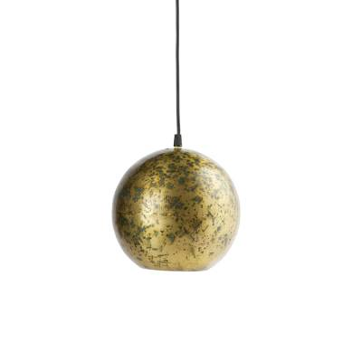 BePure Hanglamp Canonball Antique Brass