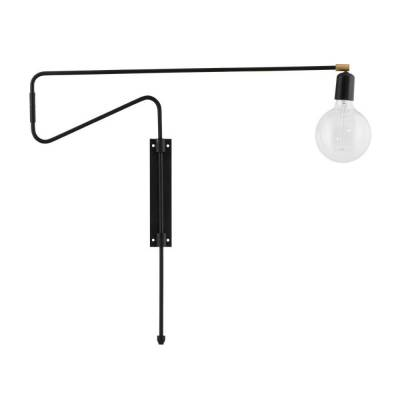 House Doctor Wandlamp Swing Black 70cm